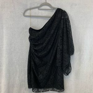 Hailey Logan Black Lace Dress